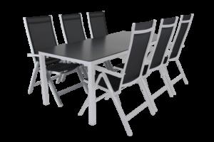 Rana white 200+6 Садовая мебель set 2
