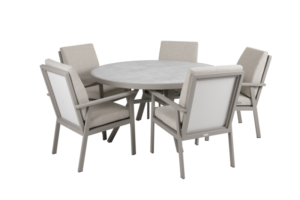 SAMVARO beige Садовая мебель обеденная set 1
