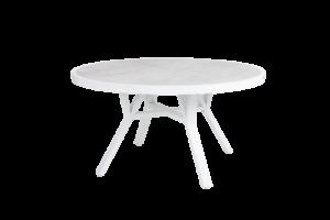 SAMVARO white Стол садовый D140 арт. 4148-05-70