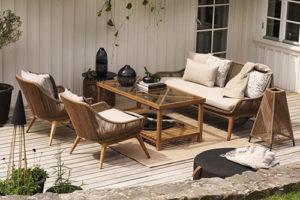 Varm + Hassel Плетеная садовая мебель brafab