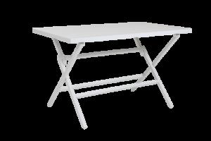 WILKIE white Стол садовый 120 Brafab