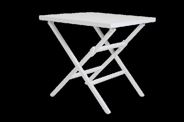 WILKIE white Стол садовый 72х72 Brafab