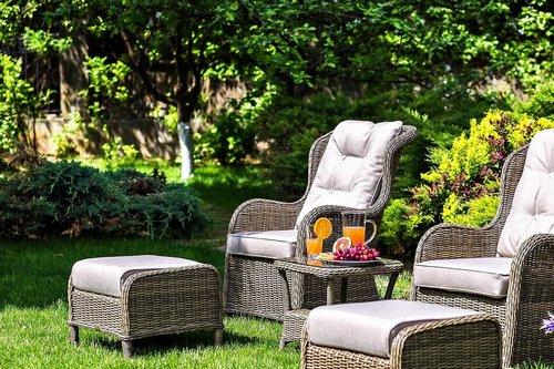 Geneva cafe set Плетеная мебель