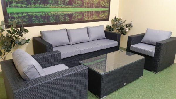 Luisa set 4 Плетеная мебель для отдыха