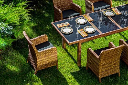 MYKONOS beige Комплект мебели из искусственного ротанга