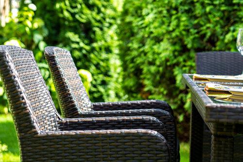 MYKONOS brown Плетеная мебель кресла