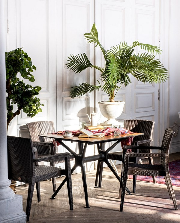 Modus 4 dark brown Комплект мебели для кафе