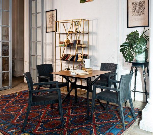 Modus 4 grey Комплект мебели для кафе