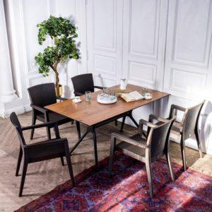 Modus dark brown Комплект уличной мебели