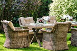 OPAL dining set 1 Плетеная мебель из ротанга