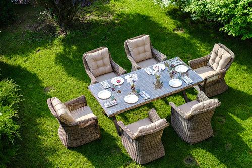 OPAL dining set 1 Плетеная мебель