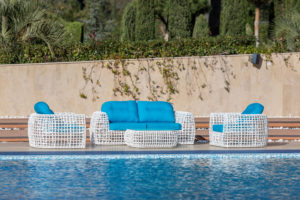 Плетеная мебель Santorini lounge set