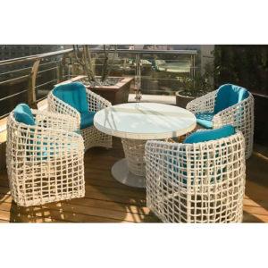 """Плетеная мебель """"Santorini"""" dining set"""