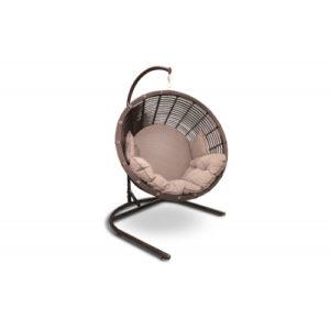 "Подвесное кресло ""Santorini"" sky lounge latte"