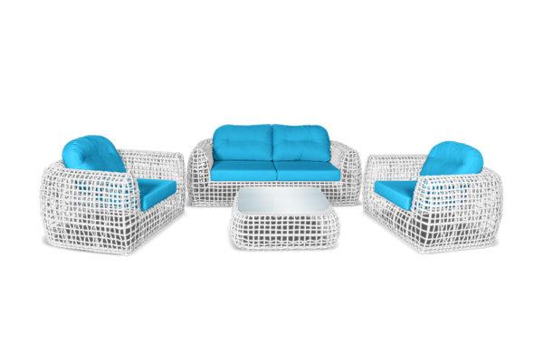 Santorini lounge set Мебель из искусственного ротанга