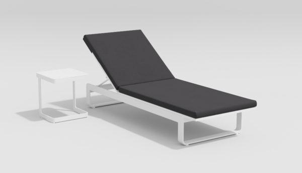 VILLINO комплект пляжной мебели белый антрацит