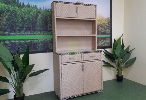 Aura шкаф из искусственного ротанга