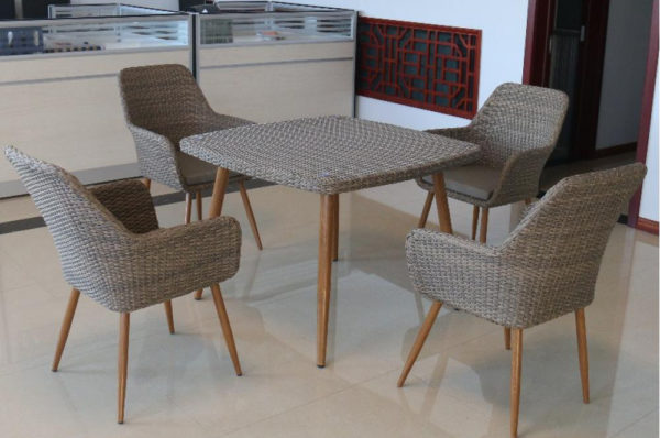 Legacy Light Brown Плетеная мебель столовая