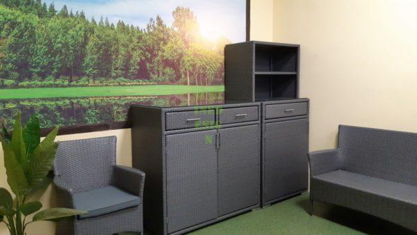 Nina grey Коллекция плетеной мебели