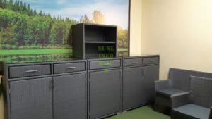 Nina grey Плетеная мебель для террасы
