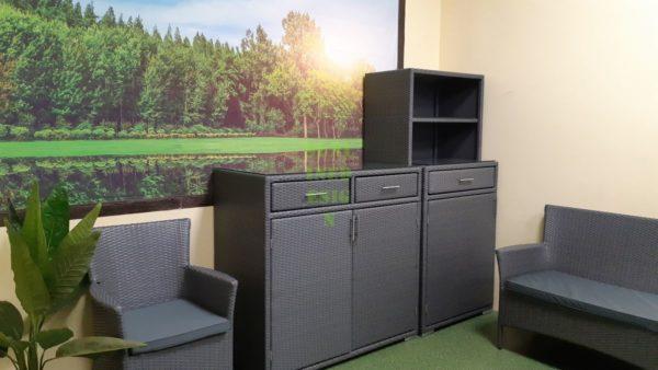 Nina grey Садовая мебель