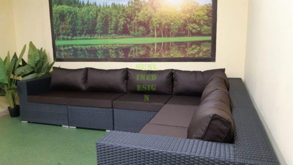 Luisa Садовый угловой диван