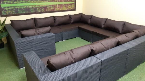 Luisa big set Мебель из искусственного ротанга