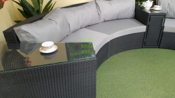 Lyra диван из ротанга