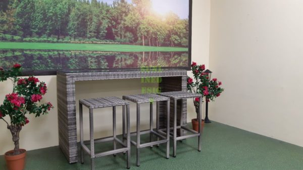 Barista natural Барная плетеная мебель