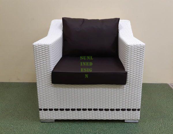 Фото-Era Кресло из искусственного ротанга
